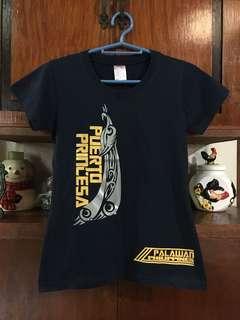 👱🏻♀️Puerto Princesa Palawan Navy Blue Tshirt