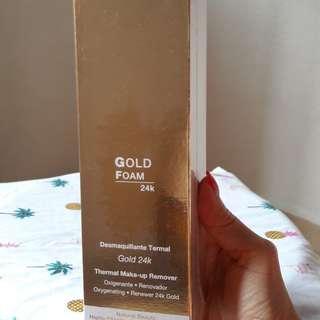 24K Gold Foam