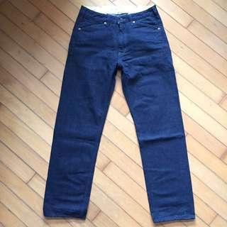 Momotaro 桃太郎 denim pants (samurai pure blue japan FOB chino)