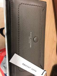 Marc Jacobs leather long wallet