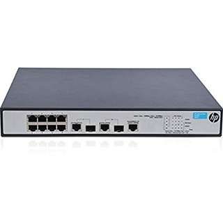 HP 8 port POE+ Switch