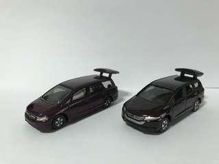 Honda Odyssey Set ( Tomica )