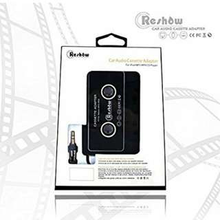 13.Reshow Car Audio Cassette Adapter