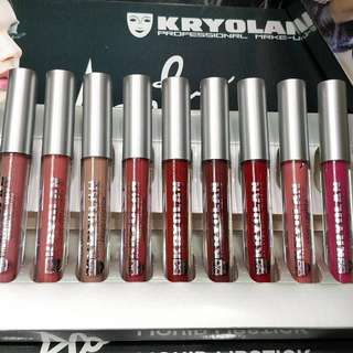 Kryolan Lipstick 12 pcs