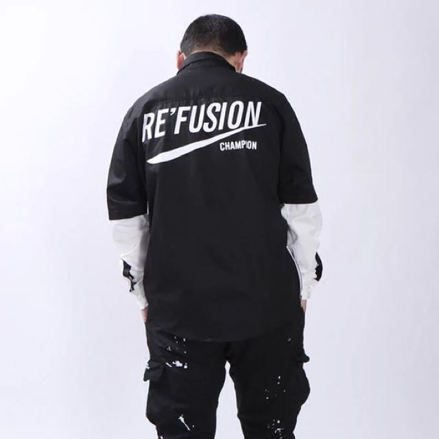 642cda0bf5df 1364 New refusion Champion flannel shirt, Men's Fashion, Clothes on  Carousell