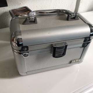 Cosmetic Box makeup box silver small