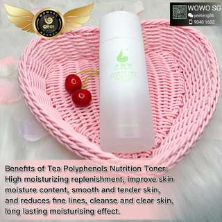 Benefit of our Wowo Nutrition toner