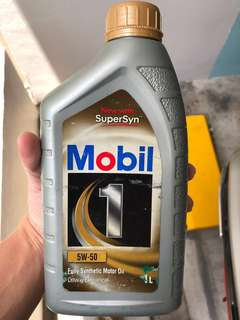 Mobile 1 Fully Synthetic Oil 5W50