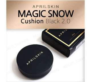 April Skin Magic Black Cushion 2.0
