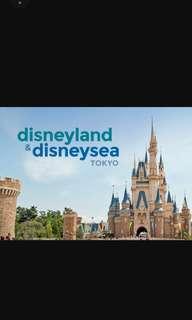 Disneyland Tokyo 2days pass