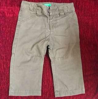 Benetton khakis pant (size 74)