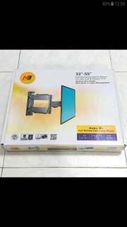 "Brand New(Sealed) Swivel and Tiltable TV Mount(32-55"") w Built-In Cable Management"