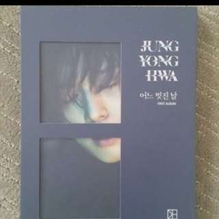 Jung Yong Hwa One Fine Day Album ( PC INCLUDED )