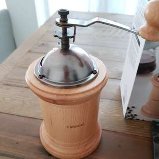 Hario Bambu Manual coffee Grinder
