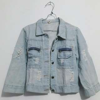 FREE ONGKIR !!! Denim Jacket - Jaket Jeans - Denim Jaket