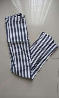 Stripes Long Pants