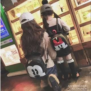 BMT382 - Mummy and Kid Mickey / Minnie Backpack