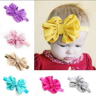 Ribbon baby headbands