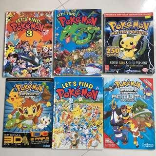Pokémon Comics and Guides