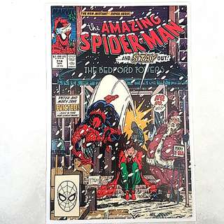Marvel Comics Amazing Spider-Man 314 Near Mint Condition Todd McFarlane Art and Cover