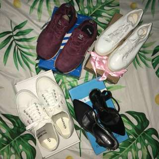 "Adidas/Superga/Heels/""Puma"" Shoes"