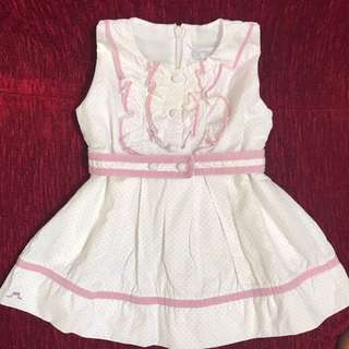 Chateau de Sable Baby girl little dress (18M)