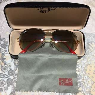 Authentic Rayban Aviator Large