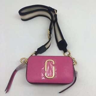 Marc Jacobs Snapshot Camera Bag- Pink