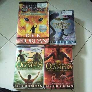Rick Riordan, Creator Of Percy Jackson Books