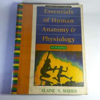 Essentials of Human Anatomy & Physiology 6th Edition