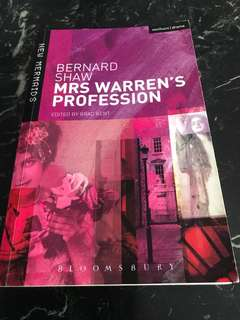 Bernard Shaw Mrs Warren's Profession (A Play)