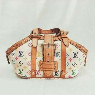 Louis Vuitton White Multicolour