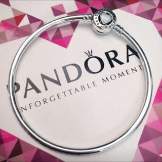 Authentic Limited Edition Pandora Bangle / Pandora Bracelet
