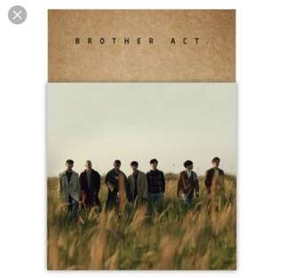 [Free Shipping!] BTOB- 2nd Album : Brother Act
