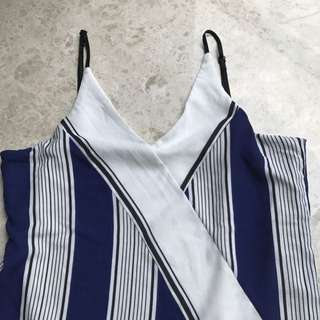 Vertical Stripped Top