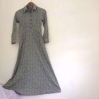 Long dress gamis size S