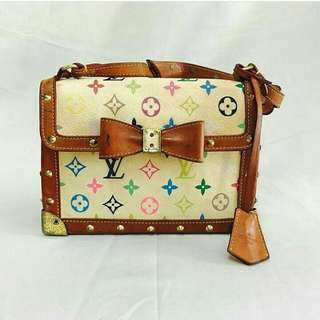 Louis Vuitton mini multicoloured bag.