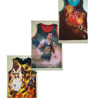 NBA Stars Basketball Jersey