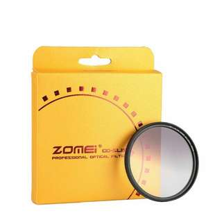 4.ZOMEi Ultra Slim GC-GRAY Gradient Gray Neutral Density Filter - 52mm