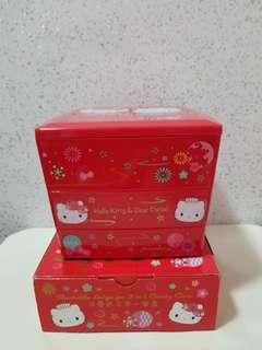 Hello kitty收納盒