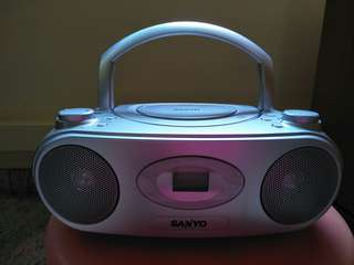 Portable Radio with CD compartment