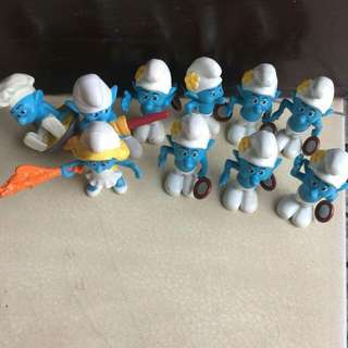 smurf small toys