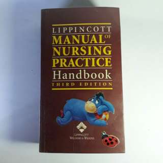 Lippincott Manual of Nursing Practice Handbook 3rd Edition