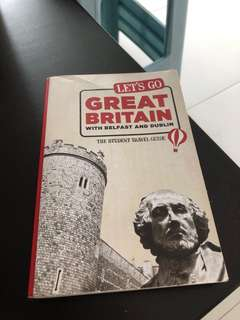 Let's go Britain travel book