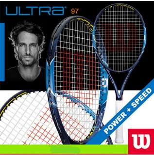 Brand new Wilson Ultra 100 Tennis Racket (pre-order)