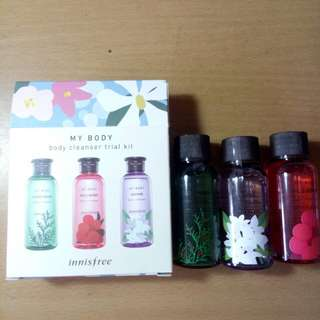 Innisfree (MY BODY) body cleanser trial kit