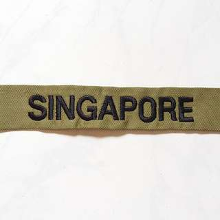 Brand New Singapore Tag (free postage)