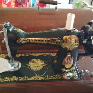 Antique Sewing Machine $100and more. Highest offer wins...