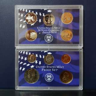 2000 USA Proof Coin Set (10pcs)