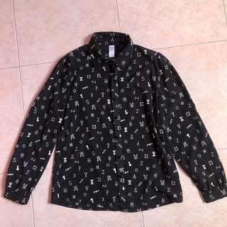 Korea Black shirt